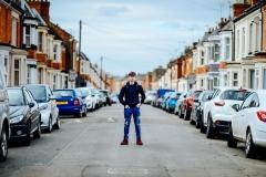 Fotosesija UK ielās.