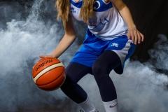 Evelinas basketbola sesija.