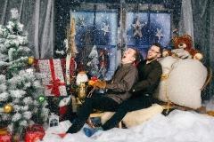Ziemassvētku fotosesijas.