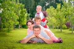 Ģimenes foto.
