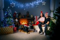 Ziemassvētku noskaņa fotostudijā Bilde  Cēsīs